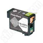 Compatible Epson T1571 Photo Black Ink Cartridge
