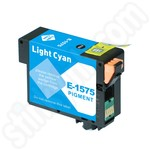 Compatible Epson T1575 Light Cyan Ink Cartridge
