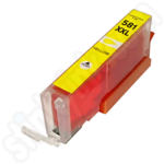 Compatible Extra High Capacity Canon CLi-581XXL Yellow Ink Cartridge