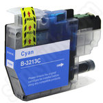 Compatible High Capacity Brother LC3213C Cyan Ink Cartridge