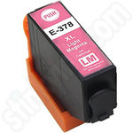 Compatible High Capacity Epson 378XL Light Magenta Ink Cartridge