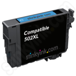 Compatible High Capacity Epson 502XL Cyan Ink Cartridge