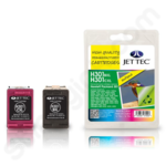 Refilled High Capacity Twinpack of HP 301XL Inks