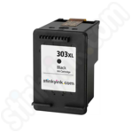 Refilled High Capacity HP 303XL Black Ink Cartridge