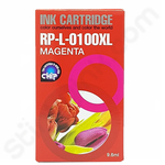 Compatible Lexmark 100 Magenta Ink Cartridge