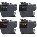 Compatible Multipack of Brother LC3217 Ink Cartridges