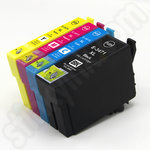 Compatible Multipack of High Capacity Epson 34XL Ink Cartridges