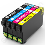 Compatible Multipack of High Capacity Epson 405XL Ink Cartridges