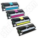 Compatible Multipack of Konica Minolta 1710589 Toner Cartridges