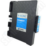 Compatible Ricoh GC-41C Cyan Gel Ink Cartridge