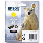 Epson 26 Yellow Ink Cartridge