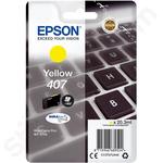 Epson 407 Yellow Ink Cartridge