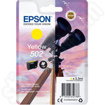 Epson 502 Yellow Ink Cartridge