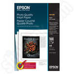 Epson A4 Matte Photo Quality Paper 100 Sheets