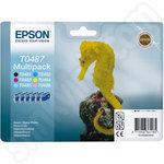 Epson Ink Cartridge Multipack T0487 Seahorse
