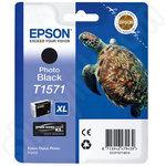 Epson T1571 Photo Black Ink Cartridge