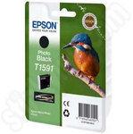 Epson T1591 Photo Black Ink Cartridge