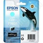 Epson T7605 Light Cyan Ink Cartridge