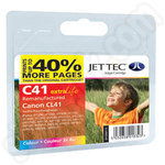 Remanufactured Extra Capacity Canon CL-41 Colour Ink Cartridge