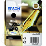 Extra High Capacity Epson 16XXL Black Ink Cartridge