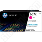 Extra High Capacity HP 657X Magenta Toner Cartridge