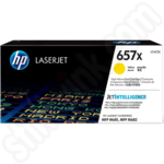 Extra High Capacity HP 657X Yellow Toner Cartridge