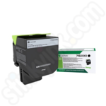 Extra High Capacity Lexmark 71B2XK0 Black Toner Cartridge