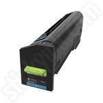 Extra High Capacity Lexmark 72K2XC0 Cyan Toner Cartridge