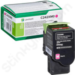 Extra High Capacity Lexmark C242XM0 Magenta Toner Cartridge (Return Program)