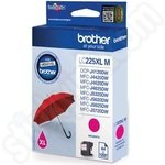 High Capacity Brother LC225 Magenta Ink Cartridge