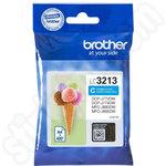 High Capacity Brother LC3213C Cyan Ink Cartridge
