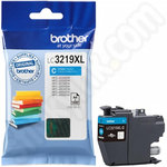 High Capacity Brother LC3219XLC Cyan Ink Cartridge