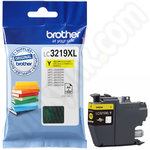High Capacity Brother LC3219XLY Yellow Ink Cartridge