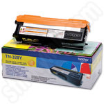 High Capacity Brother TN328 Yellow Toner Cartridge
