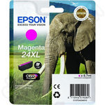 High Capacity Epson 24XL Magenta Ink Cartridge