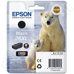 High Capacity Epson 26 XL Black Ink Cartridge