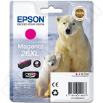 High Capacity Epson 26 XL Magenta Ink Cartridge