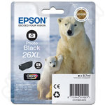 High Capacity Epson 26 XL Photo Black ink cartridge