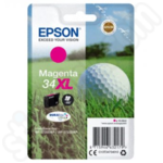 High Capacity Epson 34XL Magenta Ink Cartridge