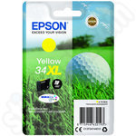 High Capacity Epson 34XL Yellow Ink Cartridge