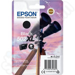 High Capacity Epson 502XL Black Ink Cartridge