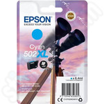 High Capacity Epson 502XL Cyan Ink Cartridge