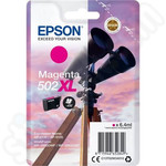 High Capacity Epson 502XL Magenta Ink Cartridge