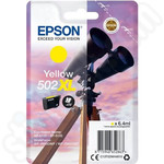 High Capacity Epson 502XL Yellow Ink Cartridge