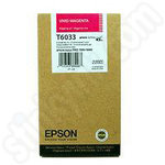 High Capacity Epson T6033 Vivid Magenta Ink Cartridge