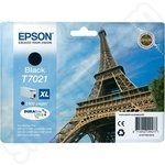 High Capacity Epson T7021 Black Ink
