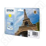 High Capacity Epson T7024 Yellow Ink