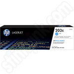 High Capacity HP 203X Cyan Toner Cartridge