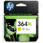 High Capacity HP 364 XL Yellow Ink Cartridge