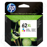High Capacity HP 62XL Tri Colour Ink Cartridge